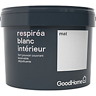 Peinture dépolluante GoodHome blanc mat 2,5L
