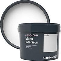 Peinture dépolluante GoodHome blanc satin 2,5L