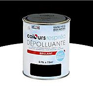 Peinture dépolluante noir brillant 0,75L