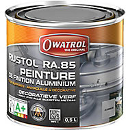 Peinture de finition aluminium Rustol Owatrol 0,5L
