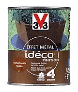 Peinture de finition effet métal rouillé V33 idéco 0,25L