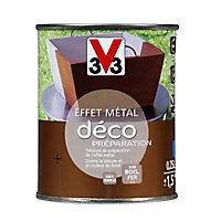 Peinture de préparation de l'effet métal fonte brûlée V33 déco 0,25L