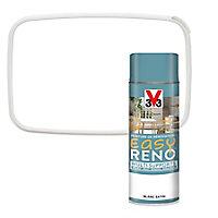 Peinture de rénovation aérosol multi-supports V33 Easy Reno blanc satin 400ml