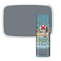 Peinture de rénovation aérosol multi-supports V33 Easy Reno gris galet satin 400 ml