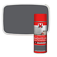 Peinture de rénovation aérosol radiateur électroménager V33 anthracite satin 400ml