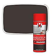 Peinture de rénovation aérosol radiateur électroménager V33 fonte métallisé 400ml