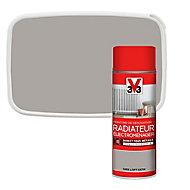 Peinture de rénovation aérosol radiateur électroménager V33 gris loft satin 400ml