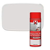 Peinture de rénovation aérosol radiateur électroménager V33 plume satin 400ml