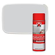 Peinture de rénovation aérosol radiateur électroménager V33 tendre gris satin 400ml