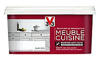Peinture de rénovation meuble cuisine V33 blanc satin 2L