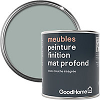 Peinture de rénovation meubles GoodHome vert Tyrone mat profond 125ml
