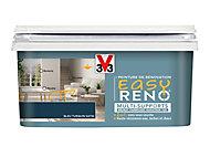 Peinture de rénovation multi-supports V33 Easy Reno bleu turquin satin 2L