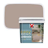 Peinture de rénovation multi-supports V33 Easy Reno chanvre satin 0,75L
