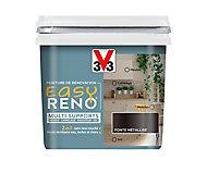 Peinture de rénovation multi-supports V33 Easy Reno fonte métallisé 0,75L