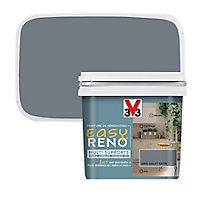 Peinture de rénovation multi-supports V33 Easy Reno gris galet satin 0,75L