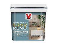Peinture de rénovation multi-supports V33 Easy Reno gris porcelaine satin 0,75L
