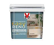 Peinture de rénovation multi-supports V33 Easy Reno lin satin 0,75L