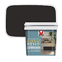 Peinture de rénovation multi-supports V33 Easy Reno noir graphite satin 0,75L