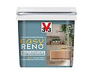 Peinture de rénovation multi-supports V33 Easy Reno or blanc métallisé 0,75L