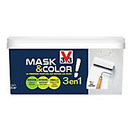 Peinture de rénovation multi-supports V33 Mask & color blanc mat 2,5L