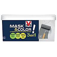 Peinture de rénovation multi-supports V33 Mask & color carbonate mat 2,5L