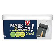 Peinture de rénovation multi-supports V33 Mask & color charbon mat 2,5L