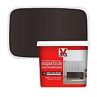 Peinture de rénovation radiateur électroménager V33 fonte métallisé 0,75L