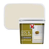 Peinture de rénovation sol et escalier V33 voile de coton satin 0,75L