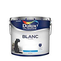 Peinture Dulux Valentine murs et plafonds blanc mat 10L