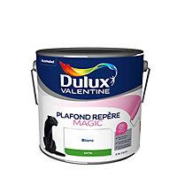 Peinture Dulux Valentine Plafond Magic blanc satin 2,5L