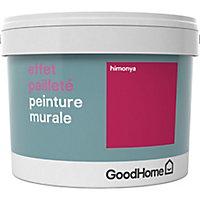 Peinture à effet paillettes GoodHome rose Himonya 2L