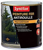 Peinture extérieure fer antirouille gris basalte satiné Syntilor 0,5L