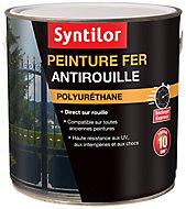 Peinture extérieure fer antirouille gris basalte satiné Syntilor 1,5L