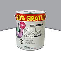 Peinture extérieure multi-supports Colours acier satin 2L + 20% gratuit