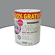 Peinture extérieure multi-supports COLOURS anthracite 2L + 20% gratuit