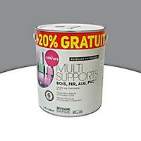 Peinture extérieure multi-supports Colours anthracite satin 2L + 20% gratuit