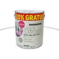 Peinture extérieure multi-supports COLOURS blanc 2L + 20% gratuit