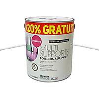 Peinture extérieure multi-supports Colours blanc satin 2L + 20% gratuit
