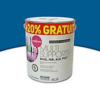 Peinture extérieure multi-supports Colours bleu outremer satin 2L + 20% gratuit