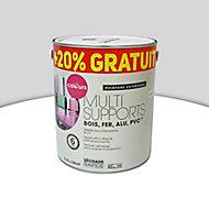 Peinture extérieure multi-supports Colours gris clair satin 2L + 20% gratuit