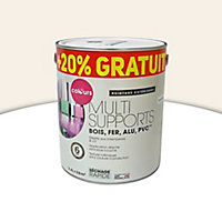 Peinture extérieure multi-supports Colours neige satin 2L + 20% gratuit