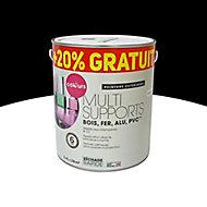 Peinture extérieure multi-supports COLOURS noir 2L + 20% gratuit