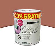 Peinture extérieure multi-supports COLOURS rouge basque 2L + 20% gratuit