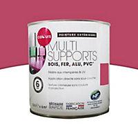 Peinture extérieure multi-supports framboise mat Colours 0,5L