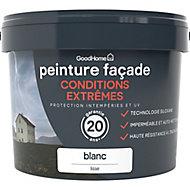 Peinture façade autonettoyante Premium GoodHome blanc 10L