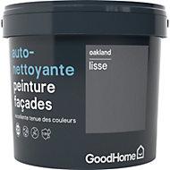 Peinture façade autonettoyante Premium GoodHome gris Oakland 5L