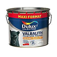 Peinture façade Dulux Valentine Valbalith blanc mat 12L