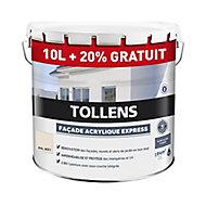 Peinture façade Tollens express ton pierre 10L+ 20% gratuit