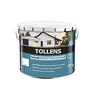 Peinture façade Tollens protection continue blanc 10L