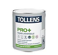 Peinture façade universelle Tollens pro+ blanc 3L